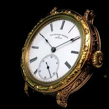NON-MAGNETIC WATCH Co OF AMERICA Vintage Mens Wrist Watch Gold Men's Wristwatch