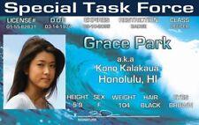 Hawaii Five-O Grace Park / Kono Kalakaua Drivers License fake i.d. card