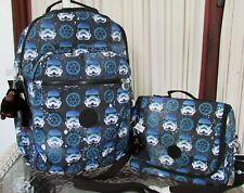 "Kipling Star Wars Seoul Go Large Printed 15"" Laptop Backpack Interstellar Storm"