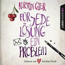 KERSTIN GIER - FÜR JEDE LÖSUNG EIN PROBLEM 4 CD NEU AUDIOBOOK