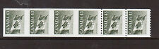 Canada #1395iii XF/NH Imperforate Strip Of Four Plus Two Extras On Hibrite Paper