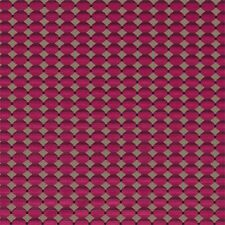 Zoffany Curtain/upholstery Fabric Abacus 2 Metres Cut Velvet Berry