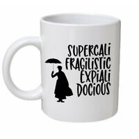 Mary Poppins Ceramic Mug Ideal Birthday Gift Present Funny Movie Themed