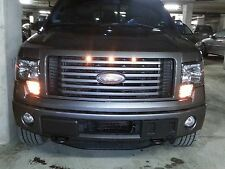 2009-2014 Ford F-150 Raptor Style Grill Clear Light Kit XLT XL FX4 Truck Lights