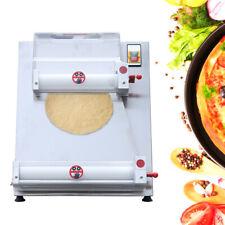 3 15 Commercial Electric Pizza Dough Roller Sheeter Dough Rounding Machine 370w