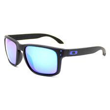 Oakley Holbrook Sports Sunglasses Matt Black frame Blue Polarised Lens