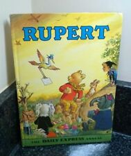 Vintage Rupert The Bear Annual 1972 Price Not Clipped