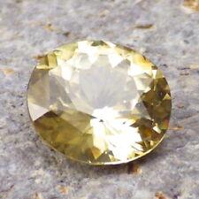 NATURAL ZIRCON-SRI LANKA 3.36Ct CLARITY SI1-GOLD LEMON GREENISH COLOR