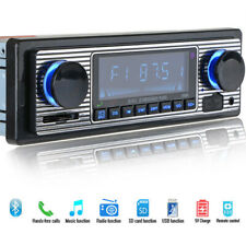 Bluetooth Retro Car Radio MP3 Player Stereo USB AUX Classic Car Stereo-Audio