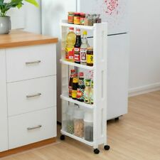 The Good For Kitchen Storage Rack Shelf Removable With Wheels Bathroom Organizer