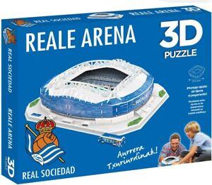 Real Sociedad Reale Arena Stadium 3D Jigsaw Puzzle (ef)