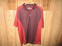 New Nike Golf Short Sleeve Dri-Fit Polo Shirt Size XL Brown - Orange Shop $59.99