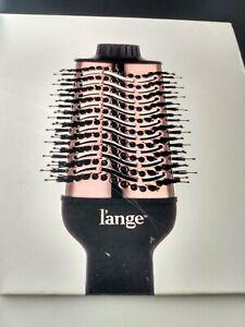 L'ange Le Volume 2-in-1 Volumizing Brush Dryer Black & Rose Gold 75mm