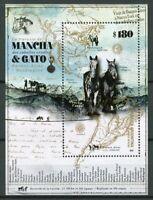 Argentina Horses Stamps 2019 MNH Tschiffely's Ride Mancha & Gato 1v M/S