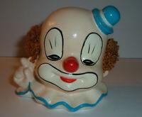 Vintage Circus Clown ( Really Creepy!!) Piggy Bank Bozo