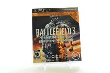 BATTLEFIELD 3 Premium Edition Very Good Condition PS3