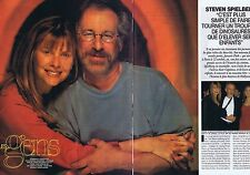 Coupure de presse Clipping 1997 Steven Spielberg   (4 pages)