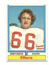 1974 Topps #268 Randy Beisler San Francisco 49ers