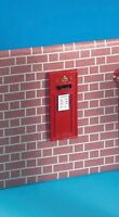 Dolls House Miniature 1/12th Scale Wall Post Box DF694
