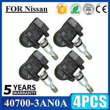 4x For Nissan TIRE PRESSURE SENSOR TPMS 40700 3AN0A w/o keyless SET-TS26 HOT