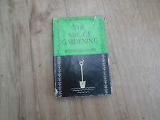 The A.B.C of Gardening W.E. Shewell-Cooper 1st ed  HB w DJ and Colour Plates VGC