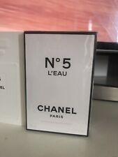 Chanel No.5 L'eau  Eau De Toilette Spray 35ml  Brand New Genuine FULL*