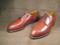 Footjoy Classic REX Brown Leather Calfskin Golf Shoes 10 E