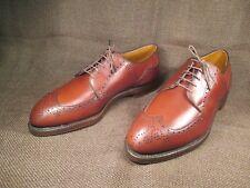 Footjoy Classic REX Brown Leather Calfskin Golf Shoes 10 E