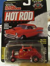 Racing Champions Hot Rod Magazine '32 Ford Highboy (body error chipped paint)