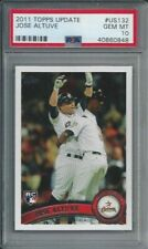 2011 Topps Update #us132 Jose Altuve Houston Astros Rookie Card PSA 10