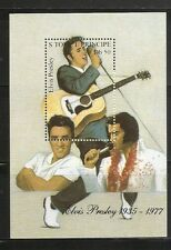 St Thomas And Prince Island SC # 1169 Elvis Presley. Souvenir Sheet .MNH