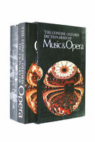 Concise Oxford Dictionary of Music and Opera by Scholes, Percy A.; Rosenthal, Ha