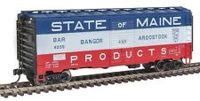 Bangor & Aroostook 40' AAR 1948 Boxcar #4035 HO NIB - Walthers #910-1450 vmf121