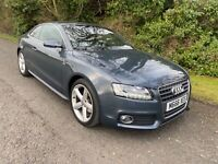 2009 AUDI A5 2.0 TSFI S-LINE MANUAL COUPE MOT 06/08/2021 ONLY 77000 MILES
