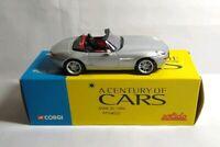 CORGI SOLIDO A CENTURY OF CARS SPECIAL EDITION 1:43 1999 BMW Z8 - AFN4832