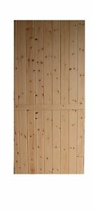LEDGED AND BRACED TRADITIONAL WOODEN  STABLE  COTTAGE DOOR 'MINSTER'