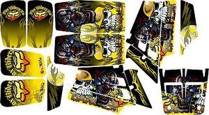 yamaha banshee full graphics kit..THICK AND HIGH GLOSS