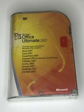 Sealed Microsoft Office Ultimate Pro 2007 Genuine Full Version w/ Product Key