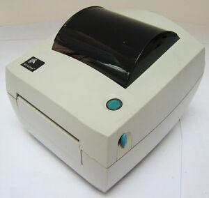 USED Zebra GC420D Direct Thermal Barcode Label Printer 100mm USB/SER/PAR #892