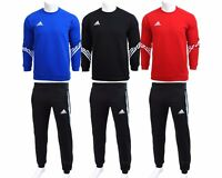 Mens Adidas Fleece Sereno Sweatsuit Tracksuit Sweater Jogging Bottoms Sweatpants