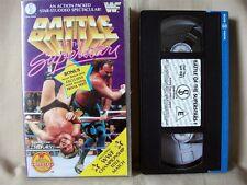 WWF BATTLE OF THE SUPERSTARS; VHS Wrestling Video; 1992