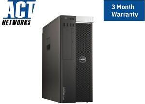 Dell T5810 E5-1630v3 4C/8T 3.7Ghz 32GB Ram 256GB SSD 2TB HDD K620 425W W10P #2