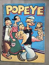 Vintage 1937 #892 Popeye King Features Syndicate Children's Book