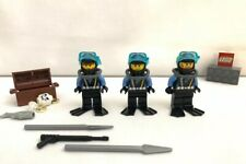 Lot 3 LEGO Vintage Divers Diving gear Accessories Aqua Raiders Figures