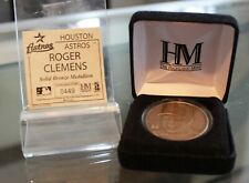 Roger Clemens The Highland Mint Solid Bronze Medallion 0449/5000