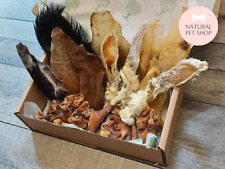 More details for all ears box - rabbit (furry hairy plain), pigs, cow, goat, natural dog treats