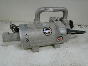 DENVER VIBRATOR EH25 2.5hp 115v concrete vibrator MOTOR ONLY WORKS GOOD USA
