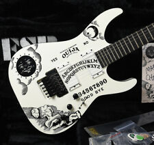 ORIGINAL ESP CUSTOM SHOP KIRK HAMMETT METALLICA WHITE OUIJA KH-2 GUITAR NUMBER 2