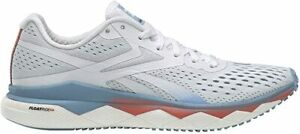 Reebok Women's FLOATRIDE Run Fast 2.0 Running Shoe, White/Blue, 8.5 B(M) US