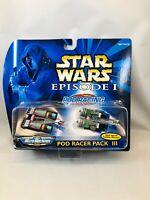 Star Wars Micro Machines Episode I Pod Racer Pack III